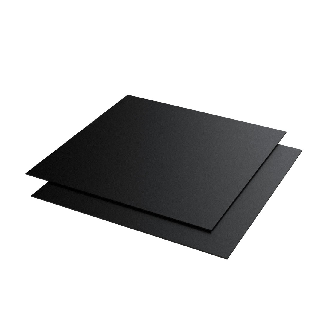 Evacast PP N16 Zwart 7700 Zand/mat 1400x1000x0,5mm