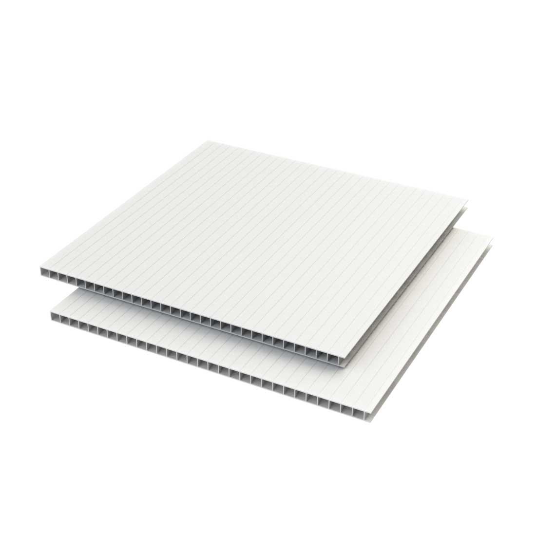Vikuprop PP Plaat 450 gr/m2 Corona uv Wit 1410x1010x3mm