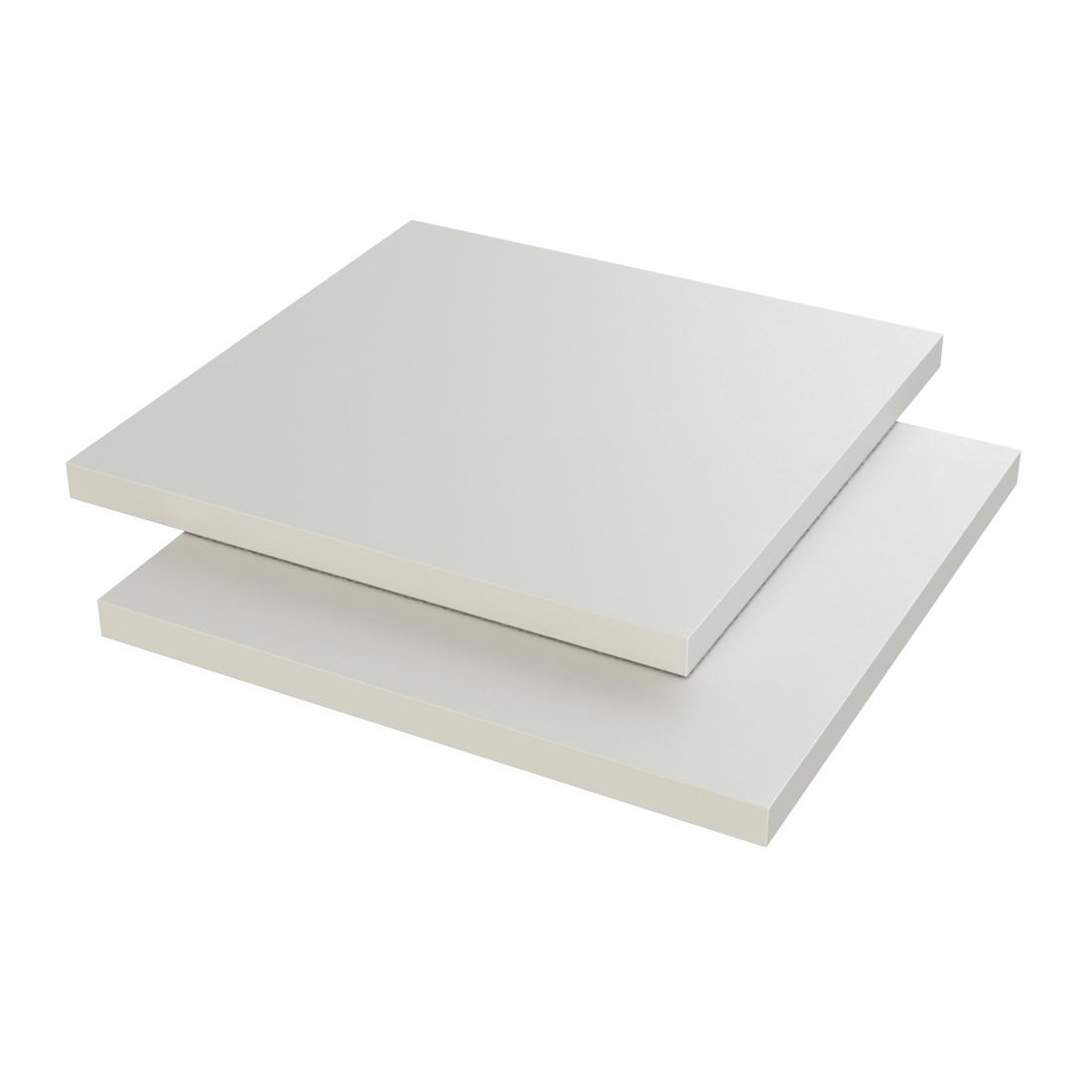 Vikunyl PVC Plaat MZ XT Wit 656 Enkelzijdig folie Hoogslagvast 2000x1000x1mm
