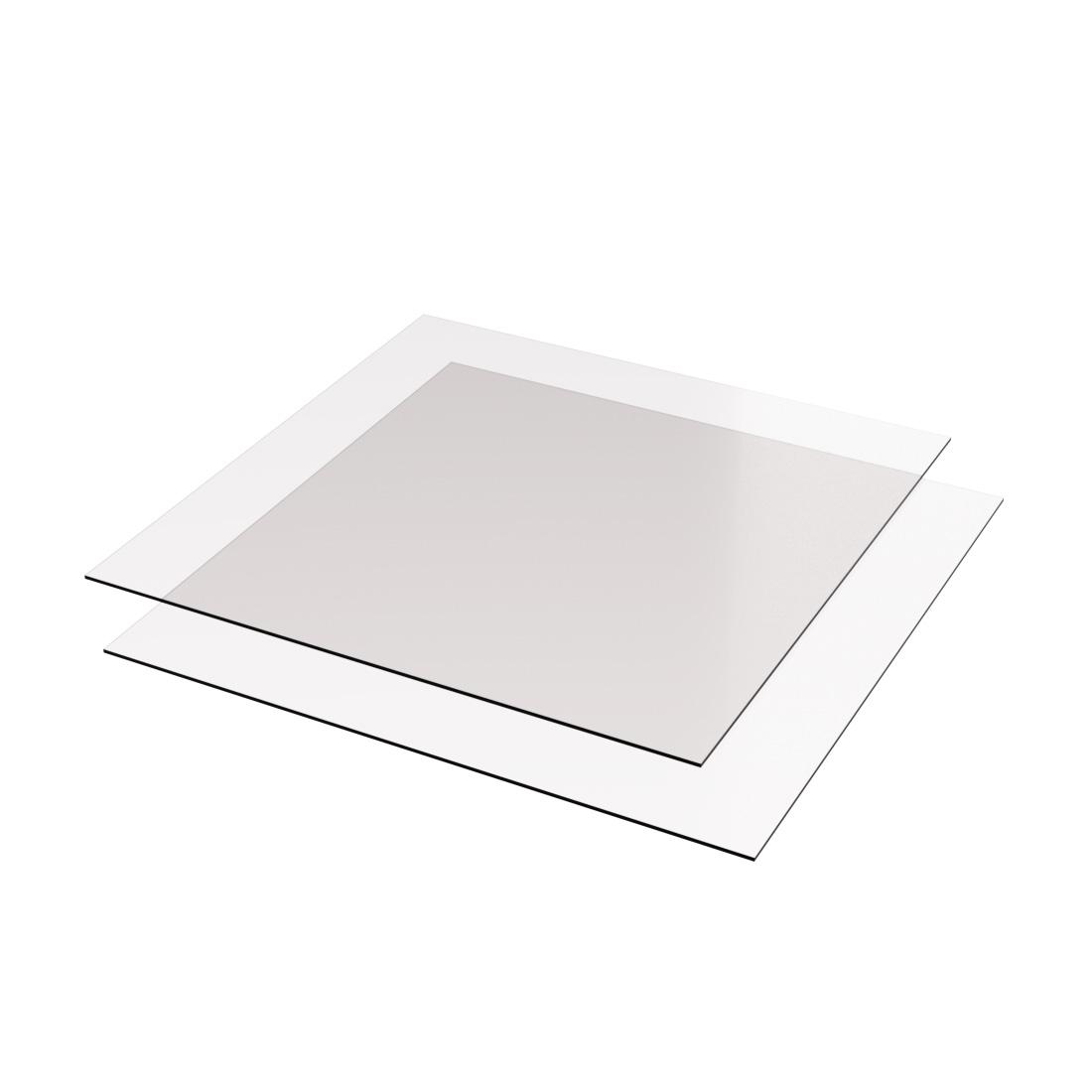Vikunyl PVC Helder 0015 Eenzijdig antireflex 1400x1000x0,3mm