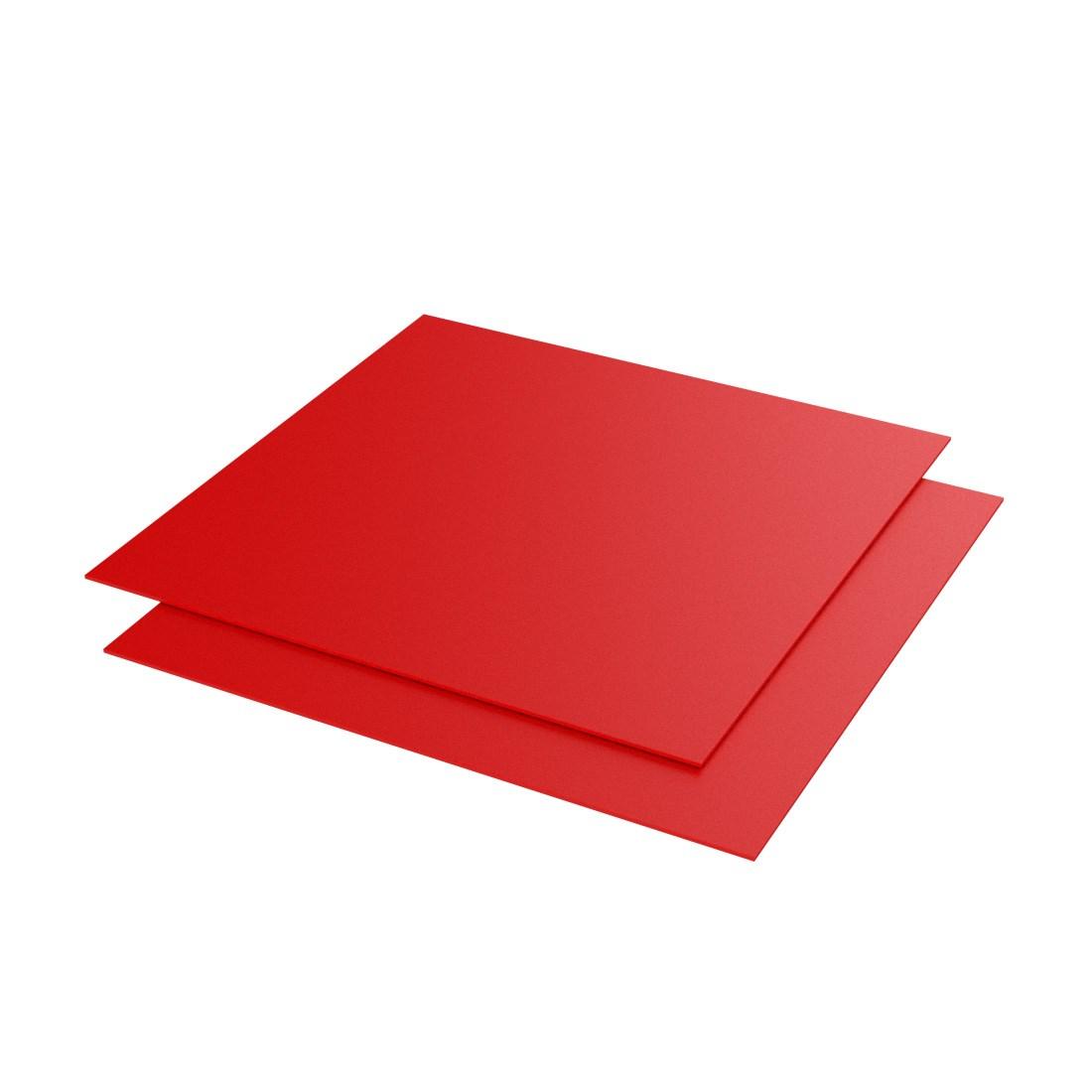 Vikunyl PVC Rood 4550 Mat 1300x1000x0,2mm
