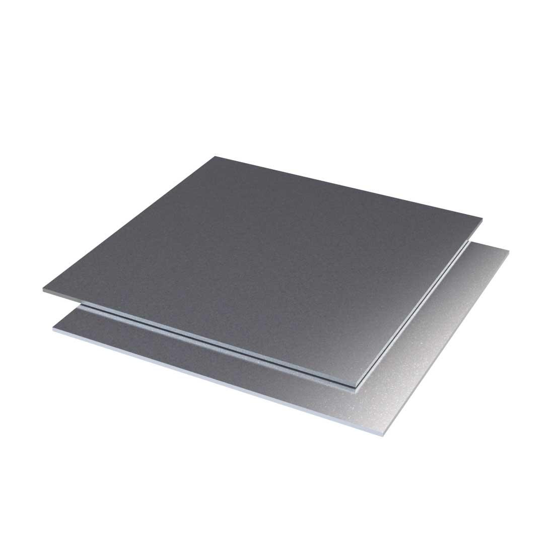 Signicolor Aluminium Plaat Zilver Metallic 2923-40 3000x1500x2mm