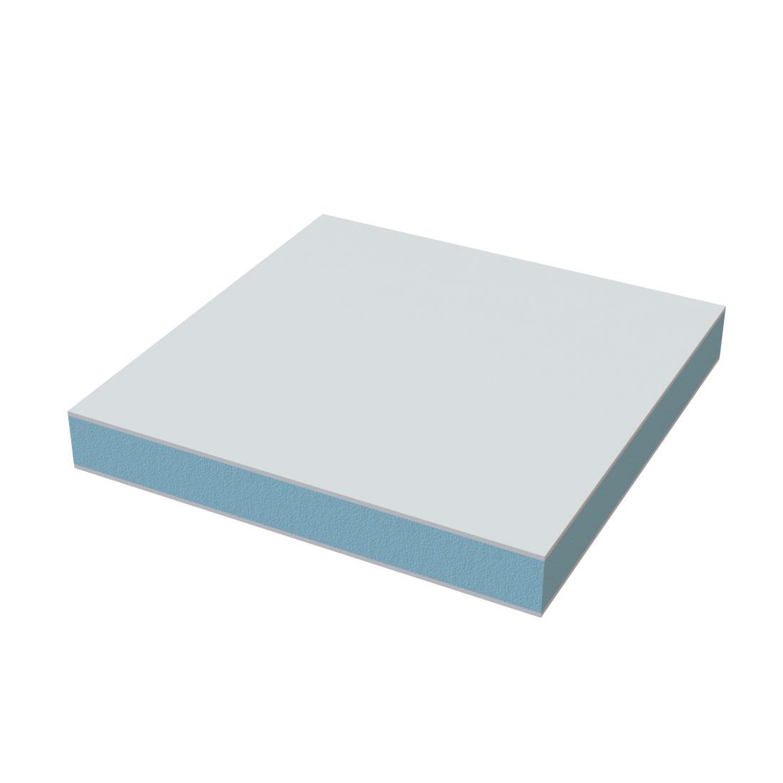 SWP FB-1/SL 10 1,3MM Zijdemat Wit RAL9016 3000x1500x24mm
