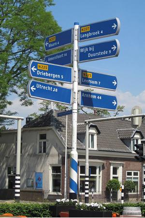 Lexan Sign Wegwijzers