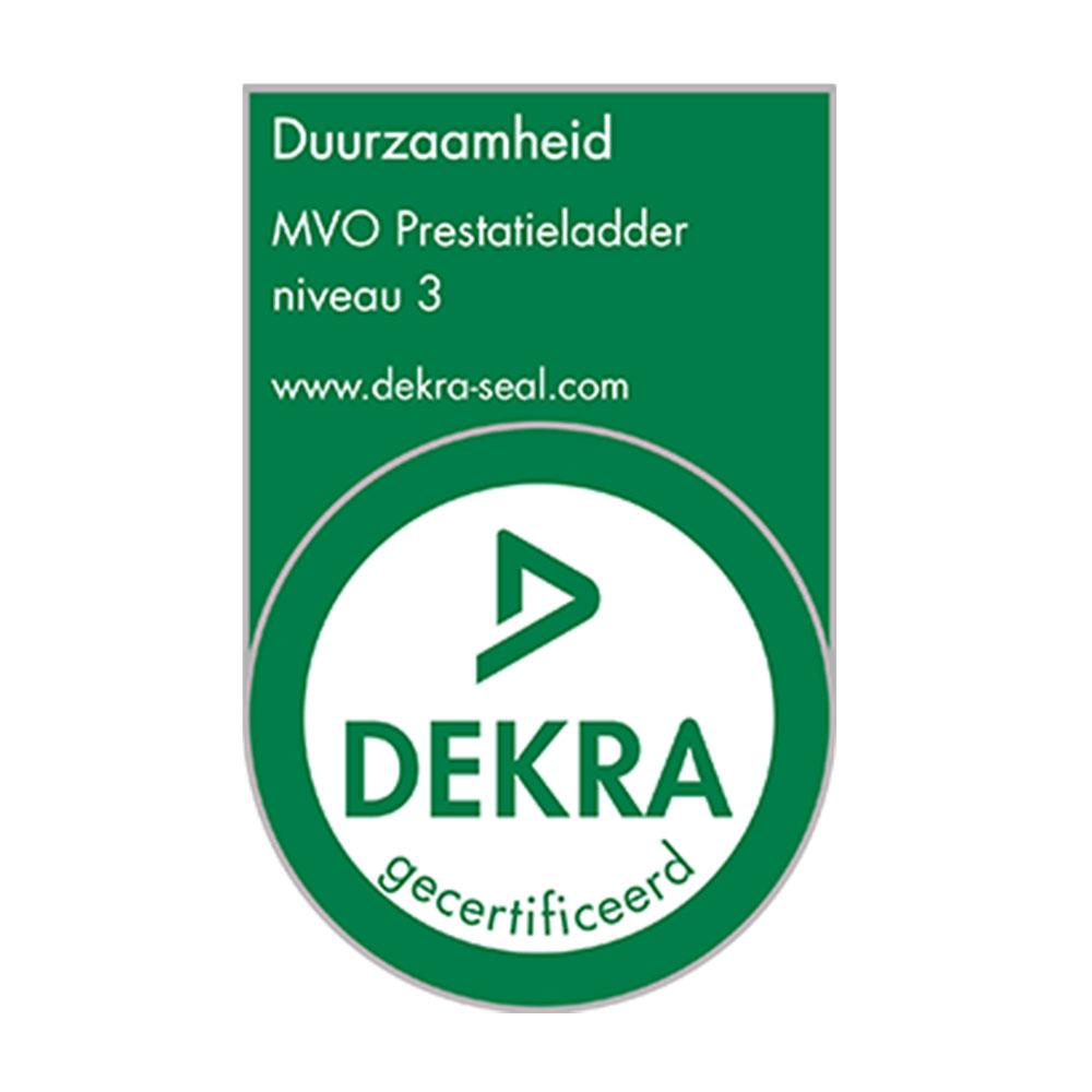 Verklaring NLMVO Prestatieladder Niveau 3 Certificaat