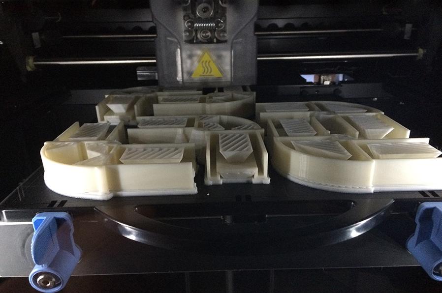 3D printing on demand, ABS onderdelen