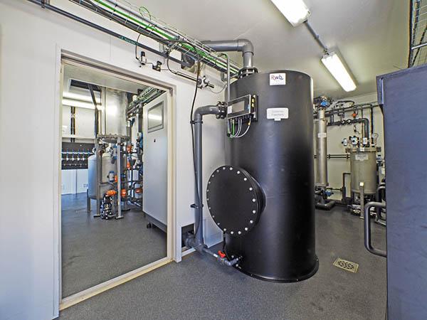 PE opslagtank drinkwater