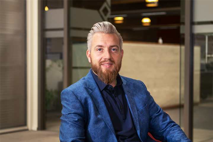 Bas Berendsen   Manager Innovations & Building   Vink Kunststoffen