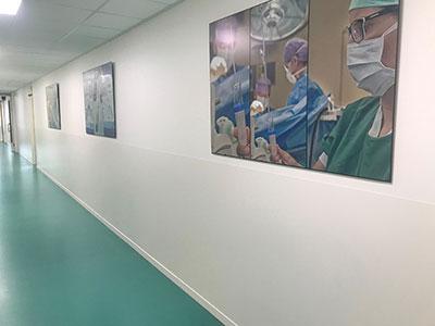 Cliniwall™ wandbekleding ziekenhuis