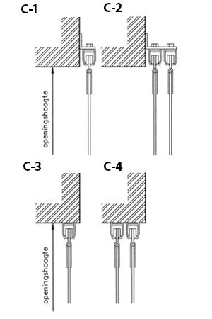 Maatpakket Zacht PVC strokengordijnen