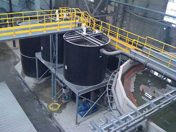 Afvalwater PE Tank