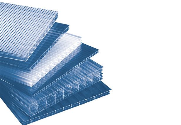 Verschillende typen kanaalstructuur polycarbonaat kanaalplaat