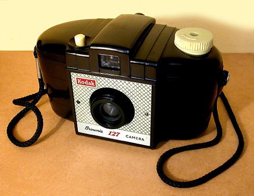 Kodak camera van Bakeliet